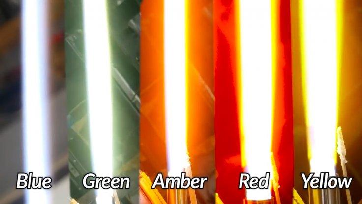 Lightsaber colors