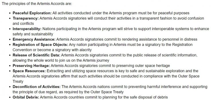 Artemis Accord