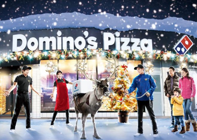 Domino's pizza in Japan plans to engage reindeers for delivery this winter