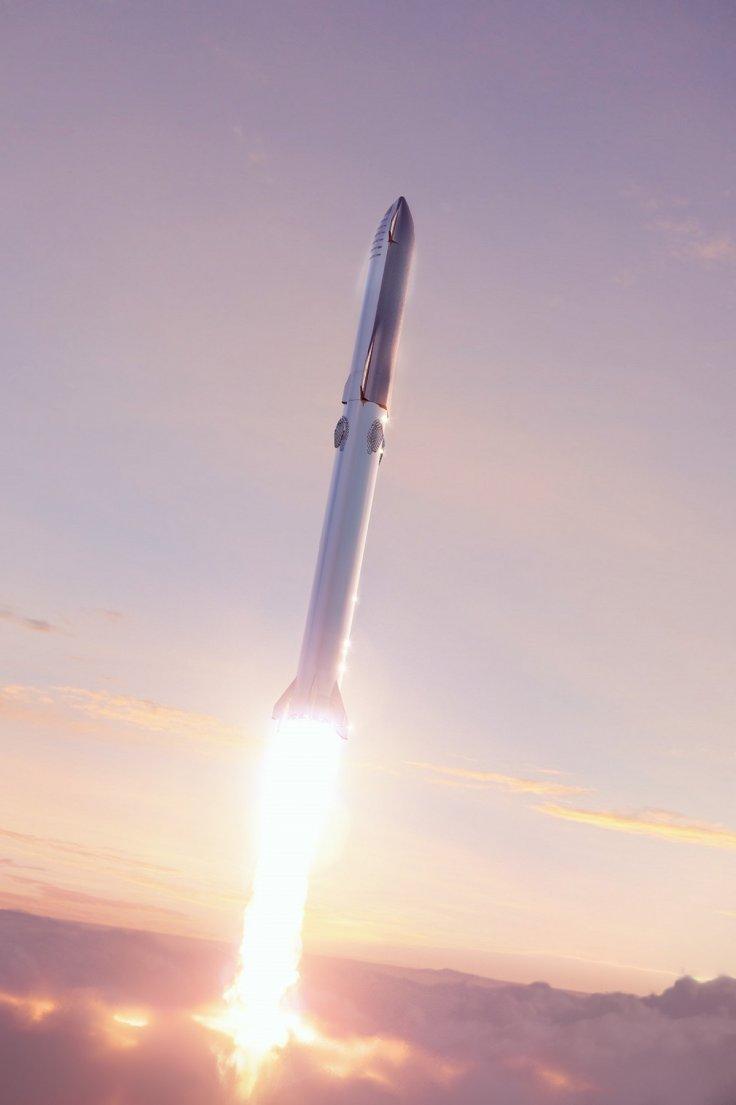 Starship rocket