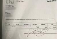 Hunter Biden receipt