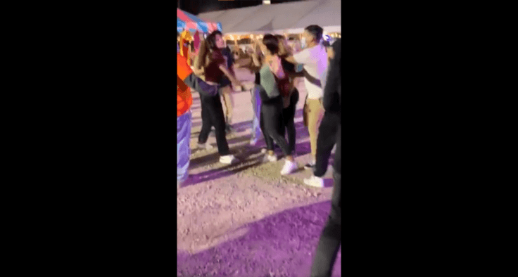 Halloween Town Carnival Fight