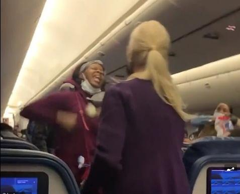 Passenger fighting