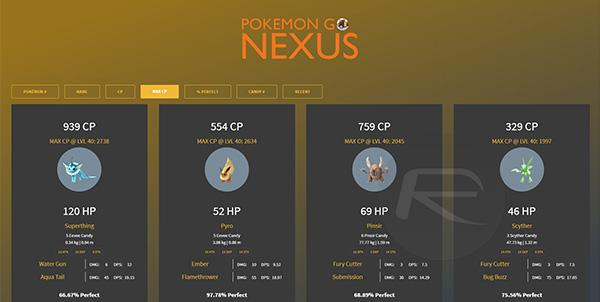 Pokemon GO Nexus