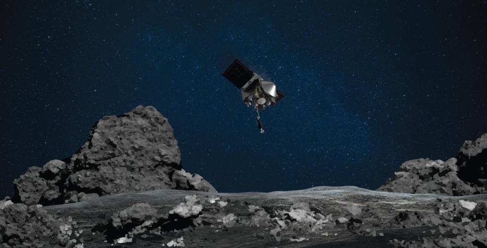 NASA's OSIRIS-REx Spacecraft Successfully Boops Asteroid Bennu