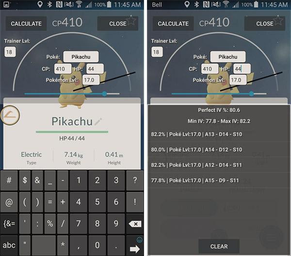 Android IV Calculator - PokeGO Master