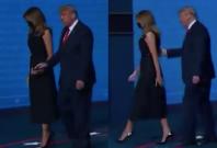 Donald Trump and Melania Trump