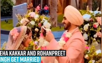 neha-kakkar-and-rohanpreet-singh-get-married-in-gurudwara