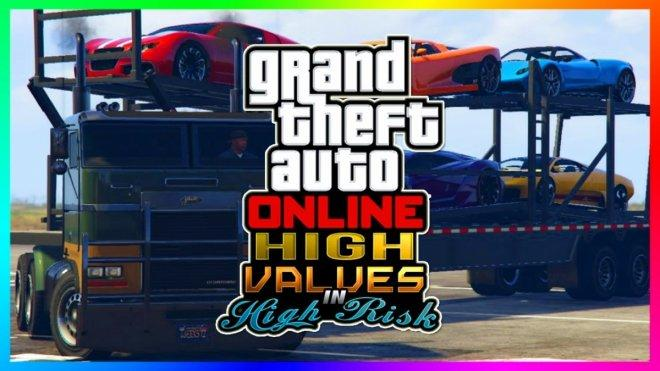 GTA 5 Online: High Risk High Reward DLC