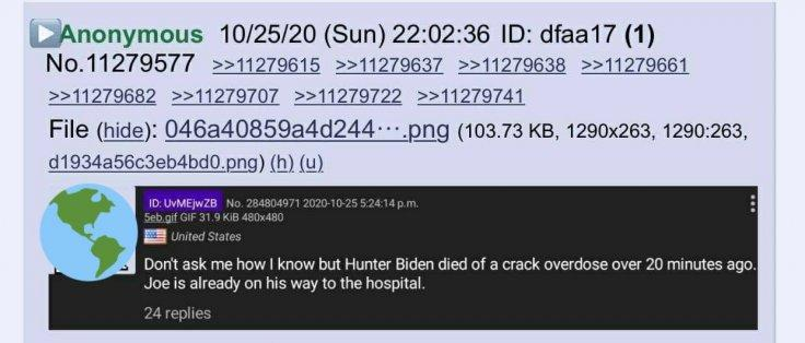 Hunter Biden death