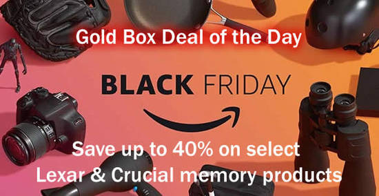 Black Friday Singapore 2016: Amazon Gold Box Deal of the day