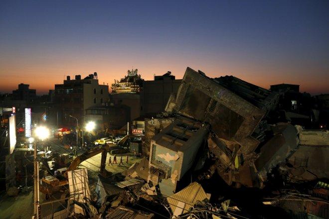 5.4-magnitude earthquake hits eastern Taiwan