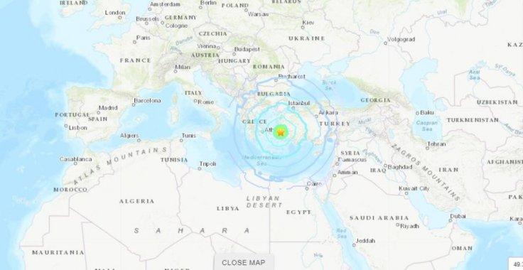 Earthquake epicenter