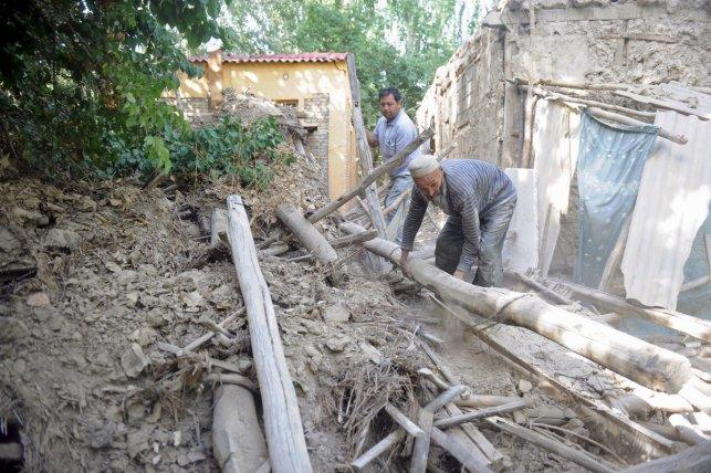 Major earthquake hits China's Xinjiang, Tajikistan and Kyrgyzsthan