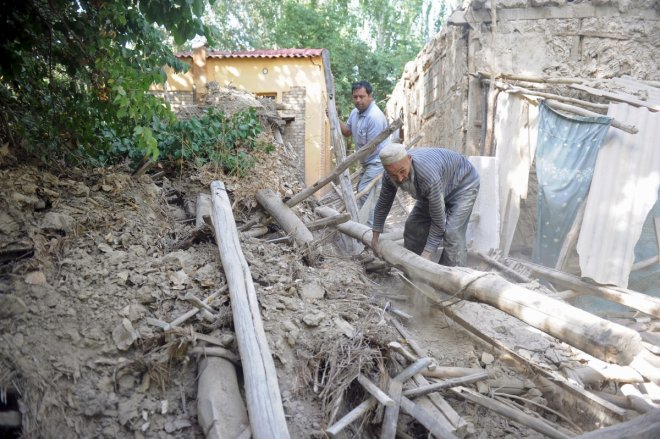 Major earthquake hits China's Xinjiang, Tajikistan and Kyrgyzsthan