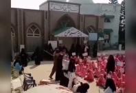 Mock beheading in Pakistan