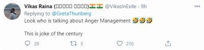 Response to Greta Thunbergs Tweet