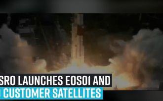 isro-launches-eos01-and-9-customer-satellites-from-satish-dhawan-space-centresriharikota