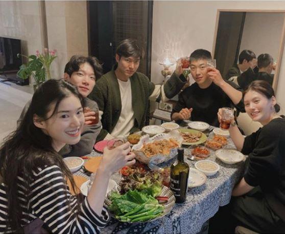 Lee Min Ho with TKEM cast