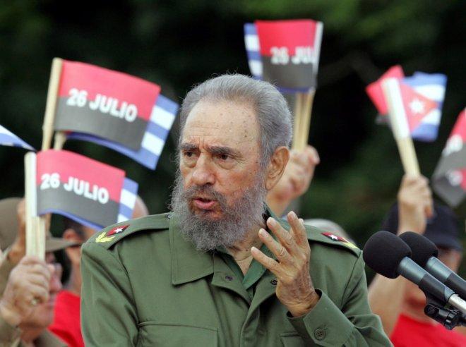 Cuba's President Castro