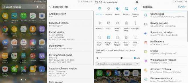 Note 7's Grace UI debuts on Note 5