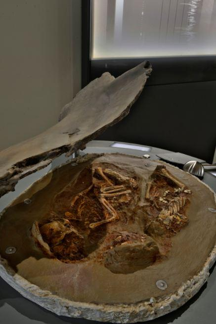 Replica of the double burial