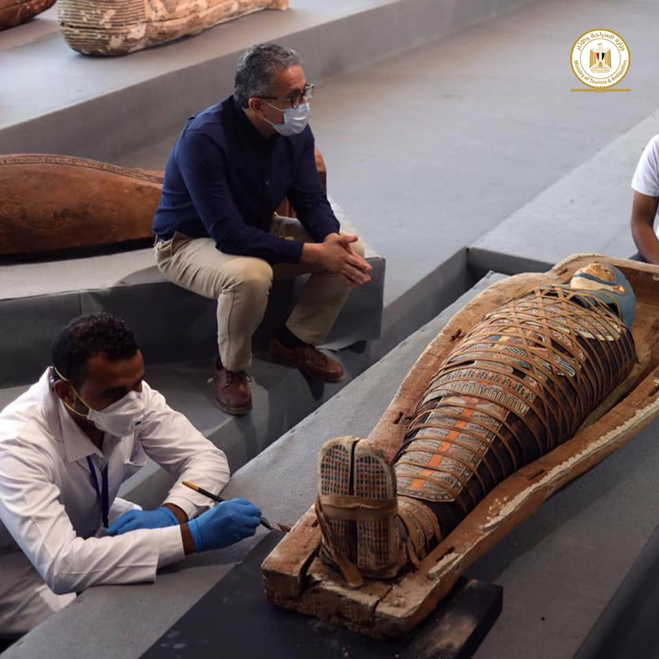 Biggest Discovery of 2020: Archaeologists Find Over 100 Sarcophagi in  Egypt's Saqqara