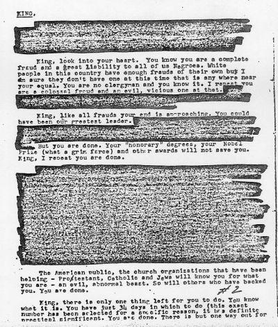 FBI Letters