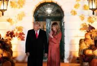 President Donald Trump and Melania Trump