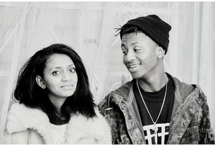 Emtee and Nicole Chinsamy