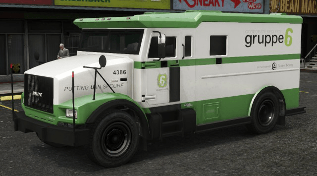 GTA 5 Online: Armoured money trucks