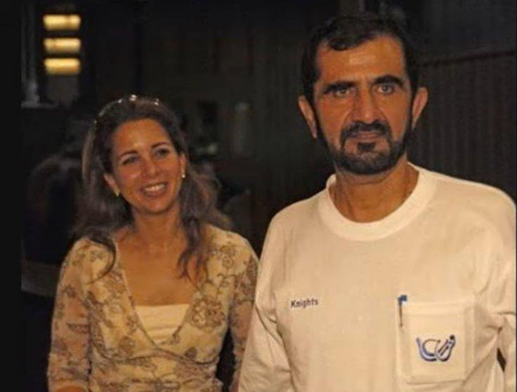 Princess Haya and Rashid Al Maktoum