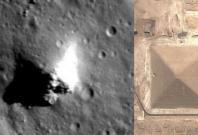 pyramid on moon
