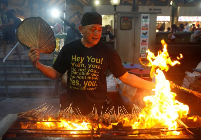 Foodies can get a glimpse of Singapore's best street food