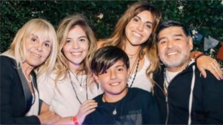 Maradona family