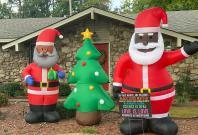 Black Santa Claus Decorations