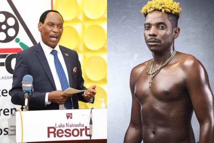 Eric Omondi slams Ezekiel Mutua
