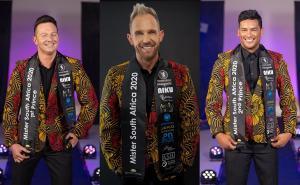 Hannes Van Der Walt's the winner of Mr South Africa 2020