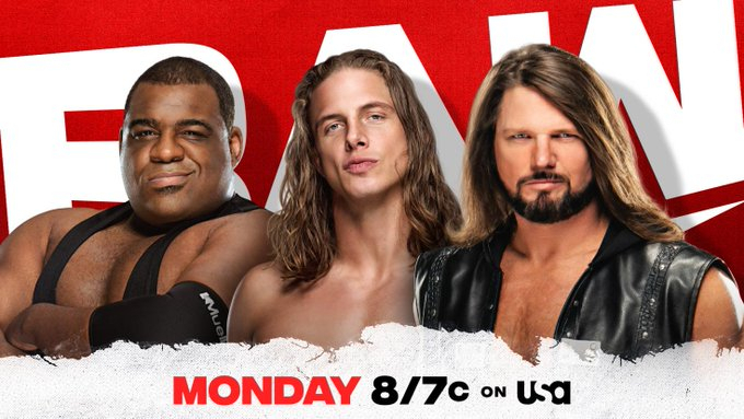 WWE Monday Monday Raw