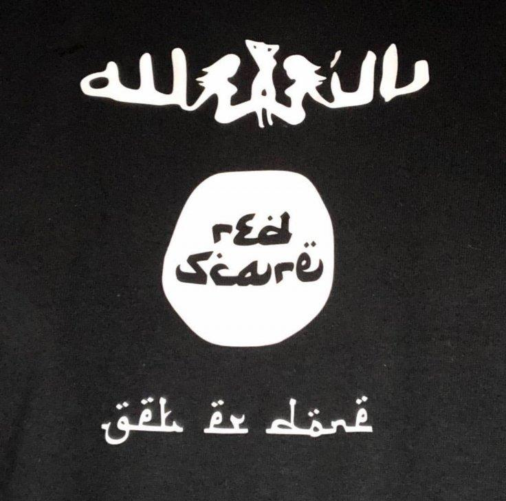 Red Scare ISIS-inspired logo