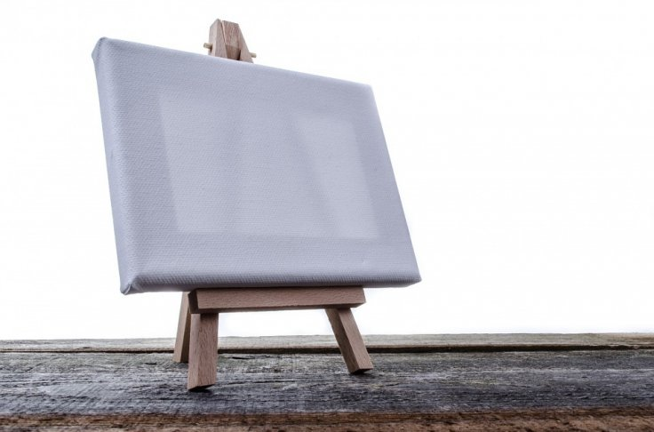 White Painting (Representational Image)