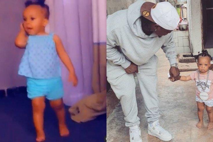 Harmonize with his Daughter Zulekha
