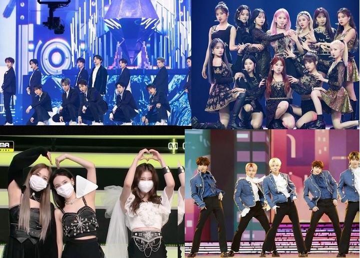 Mnet Asian Music Awards 2020 Winners List Bts Treasure Ateez Win Big Watch Live