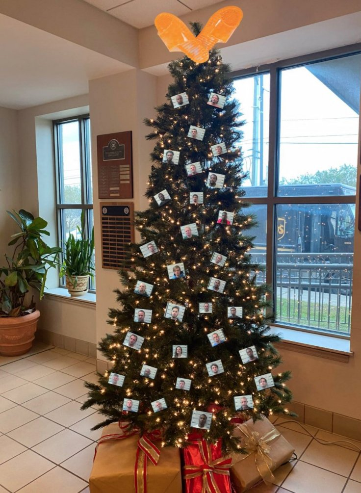 Mobile County Sheriff's Office Christmas Tree