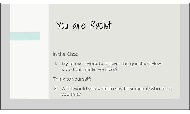 white privilege training