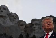 Donald Trump at Mt. Rushmore