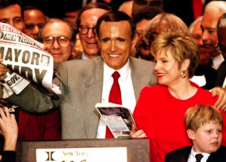 Rudy Giuliani and Donna Hanover