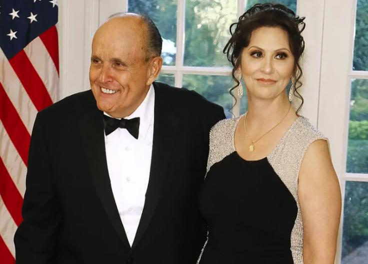Rudy Giuliani and Maria Ryan
