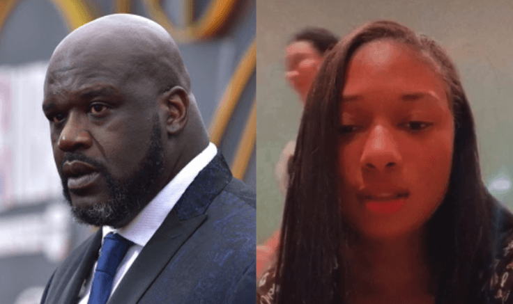 Shaquille O'Neal and Megan Thee Stallion