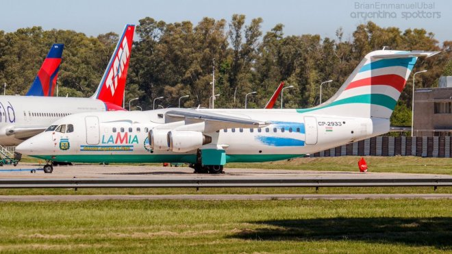 plane with brazil football players crash